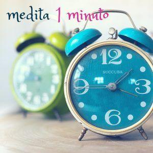 Medita un minuto